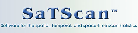 SaTScan™ - Software for the spatial, temporal, and space-time scan statistics