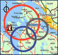 Östersund map